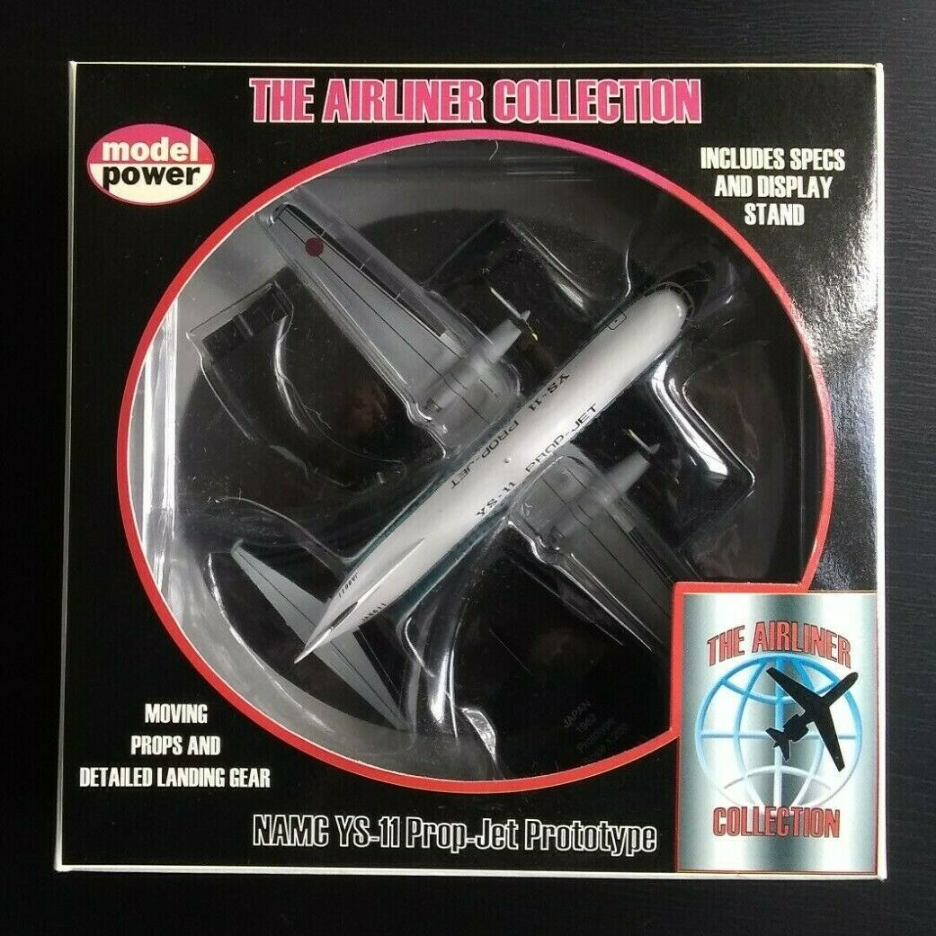 Model Power NAMC YS-11 Prop-Jet Prototype 1-200 Scale Diecast Airplane BNIB New