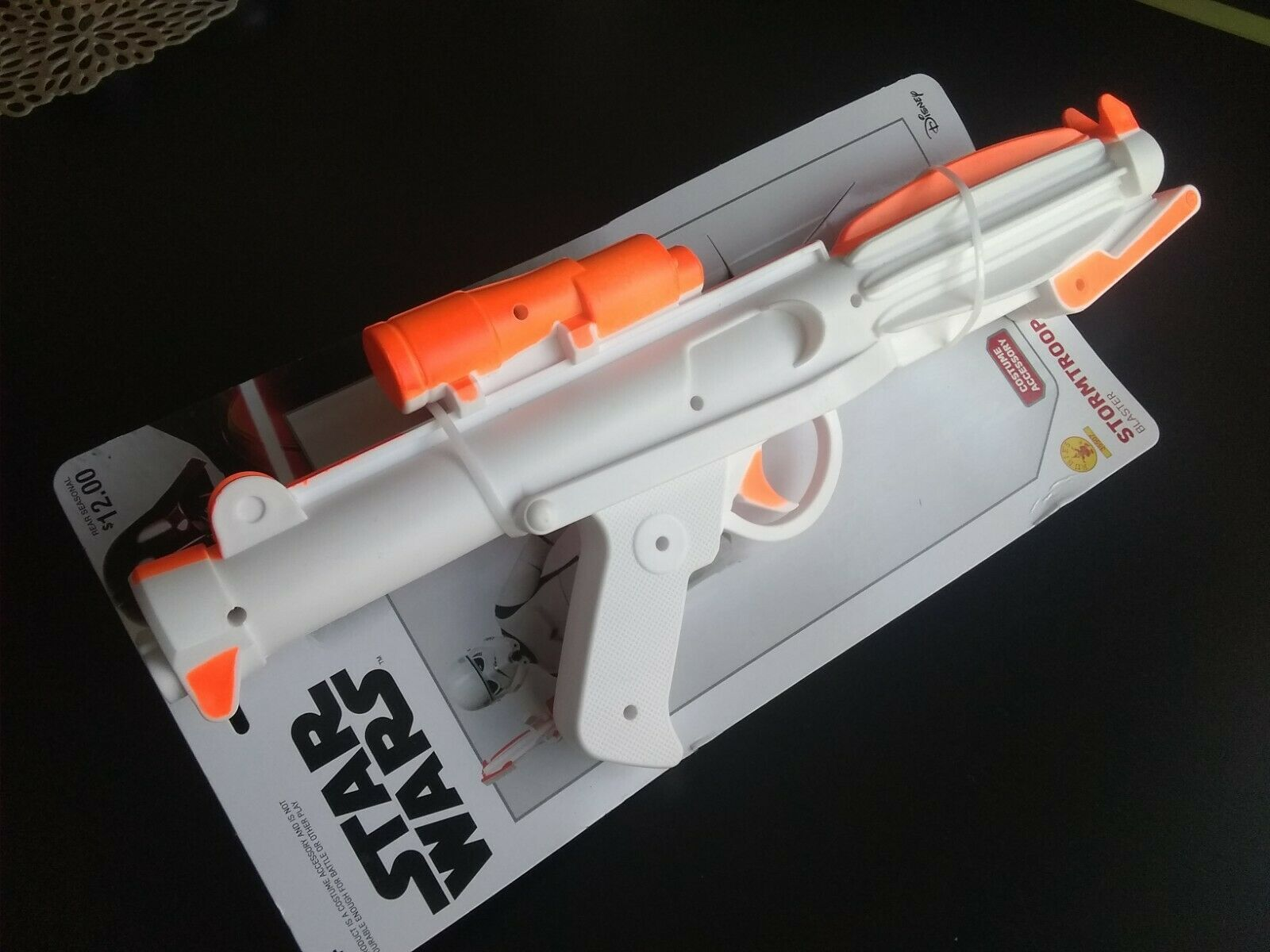 Star Wars Stormtrooper E-11 Blaster Replica Prop Rebels Licensed Star Wars Toy DIY Base Starter