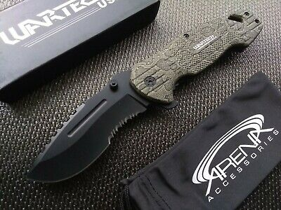 Snake Skin Pocket Knife Assisted Open 1065 Surgical Stainless Rattlesnake Python