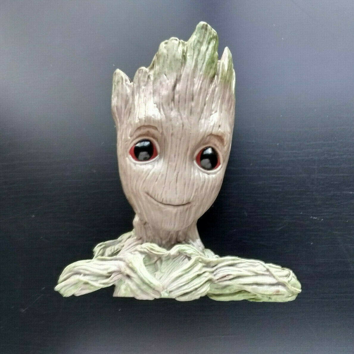 Baby Heart Hands Groot Guardians of the Galaxy Desk Pen Holder Flower Pot Planter Tree Man Love Gift