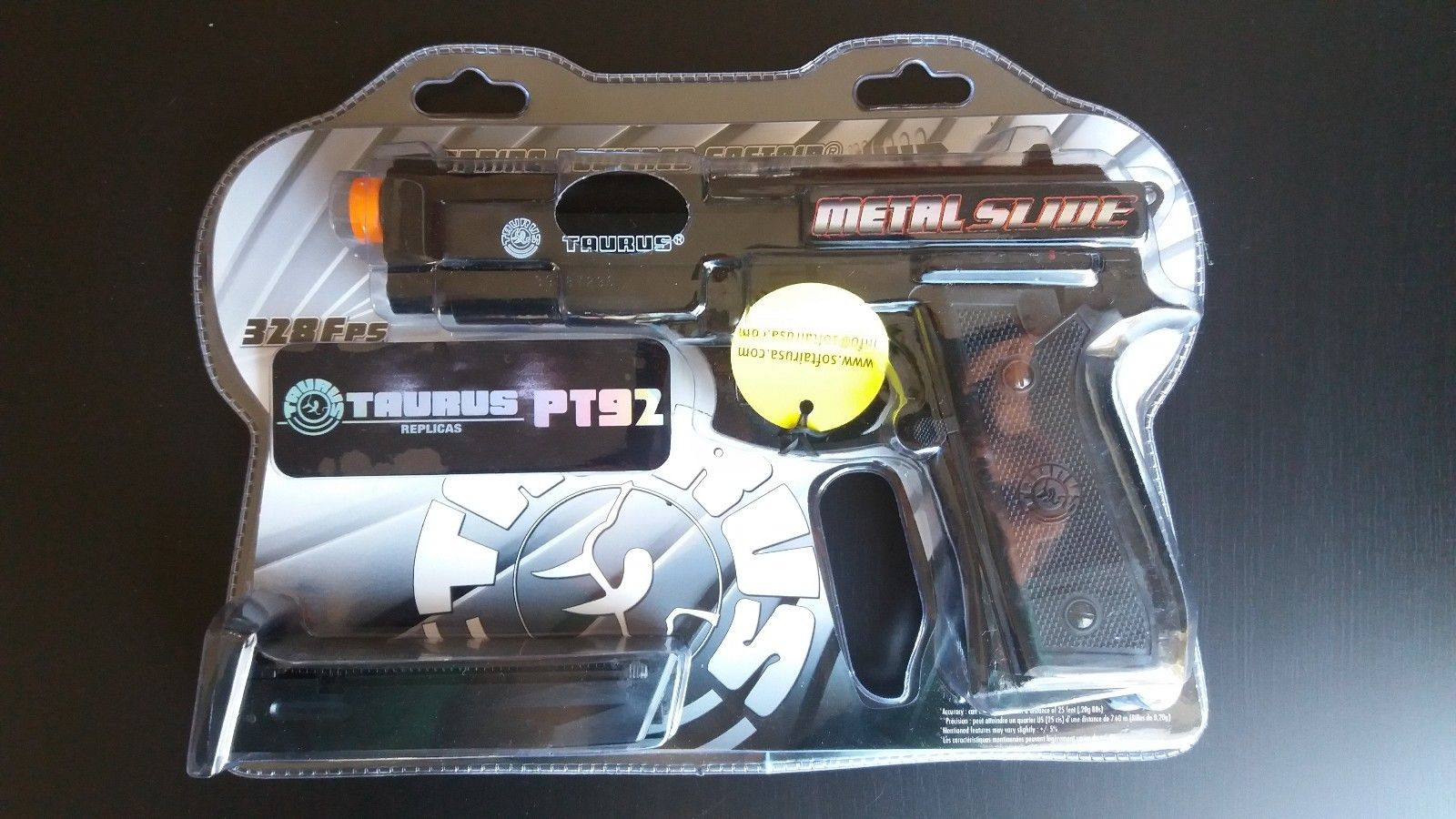 Cybergun Taurus PT92 Best All Metal Slide Spring Airsoft Pistol Gun 328 FPS
