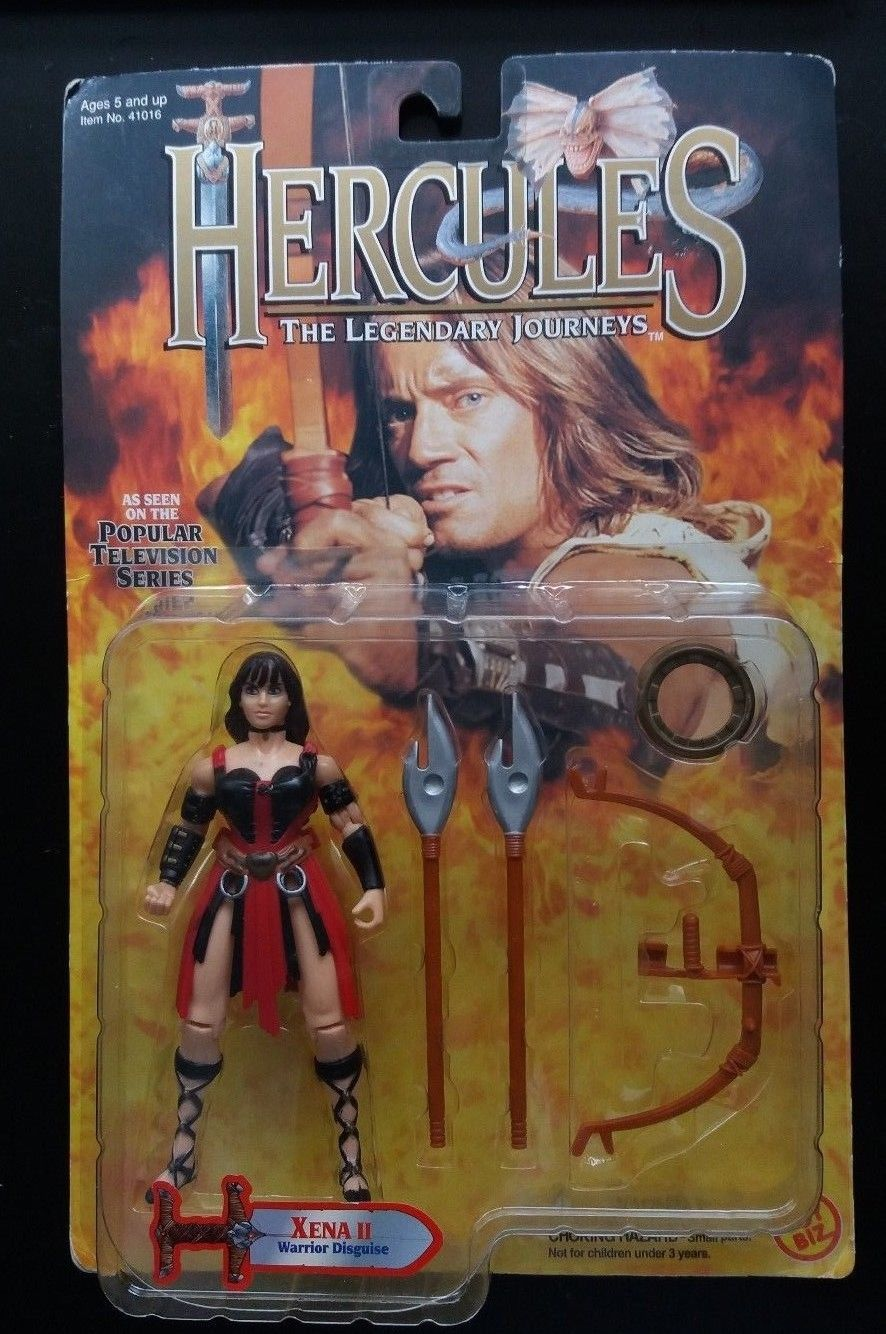 1996 Xena II Warrior Disguise Action Figure Toy Biz Hercules Legendary Journeys