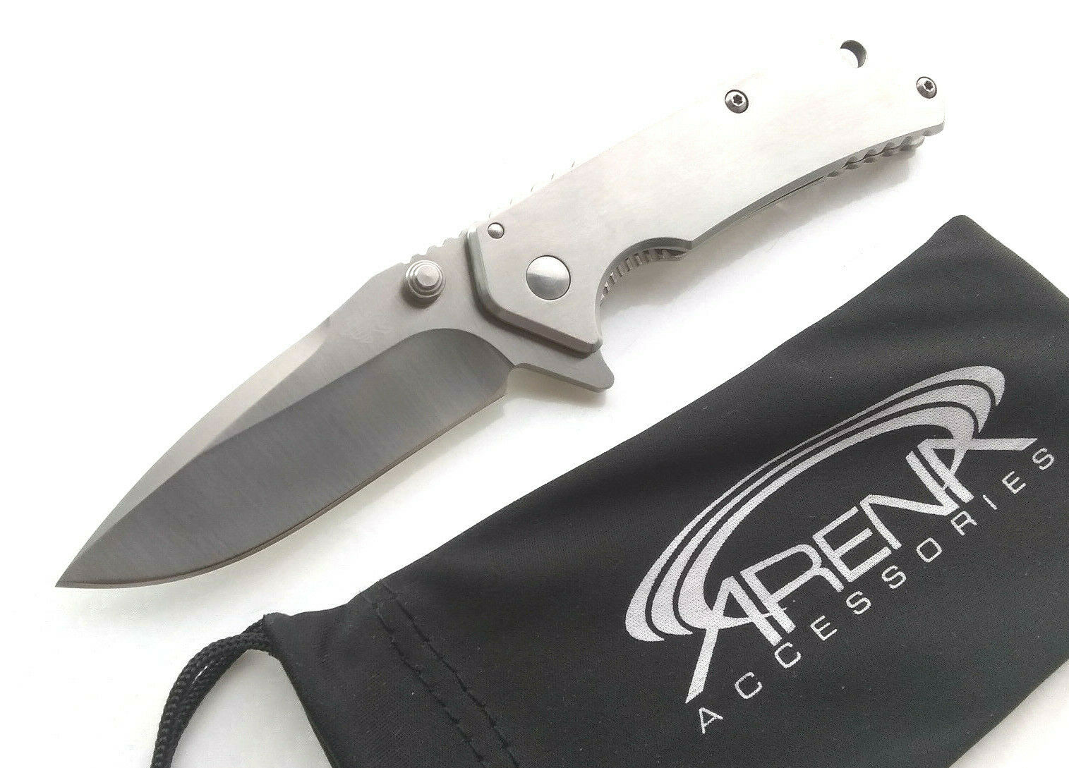 Sanrenmu 7056 Manual FrameLock Flipper Pocket Knife 8Cr14 Liang Gang Design Small Everyday Carry