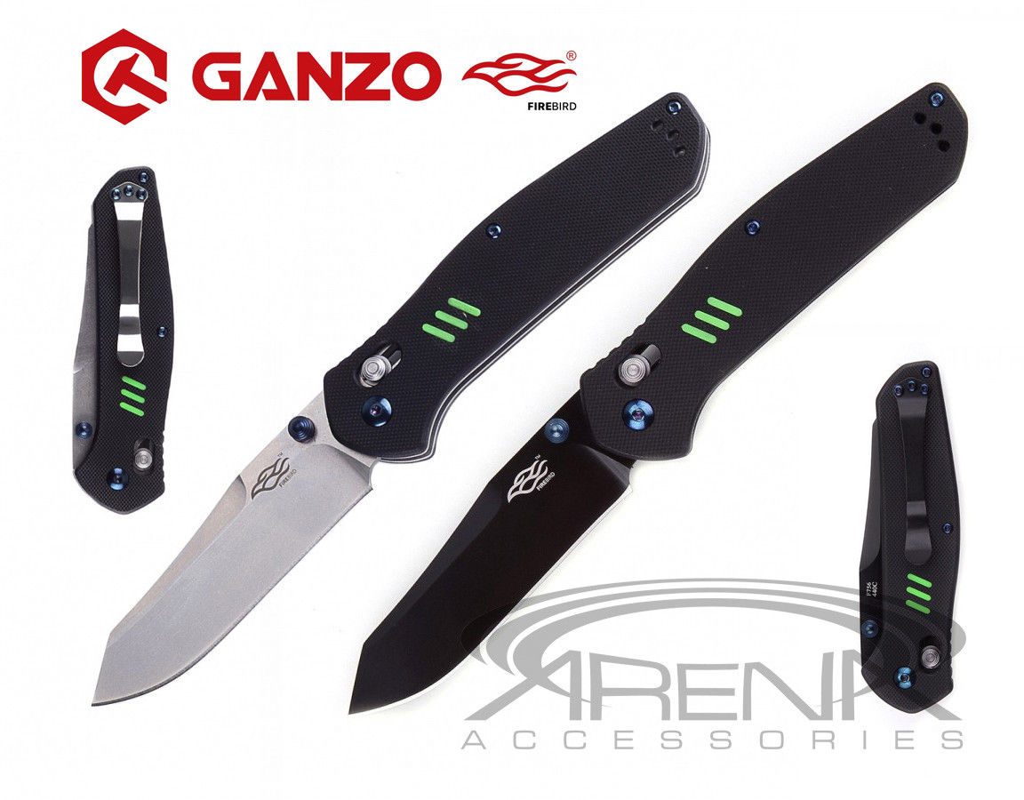GANZO Firebird F756 G10 Pocket Knife Axis Lock EDC High Quality USA FAST SHIP!