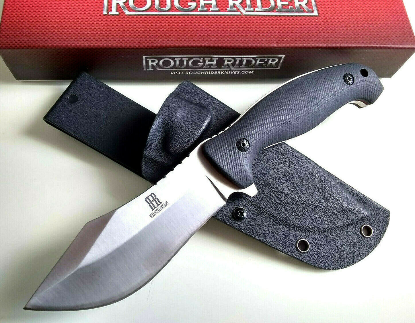 RR1870 G10 Fixed Blade Knife Horizontal & Vertical Concealed Carry Kydex Sheath 4.7 mm Thick