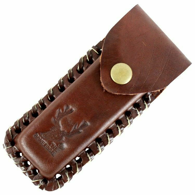 Large Brown Knife Belt Sheath Pouch Fits Up To 4