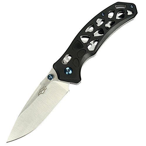 GANZO Firebird FB7631-BK Pocket Knife 440C Blade Black G10 EDC Bearing Pivot USA