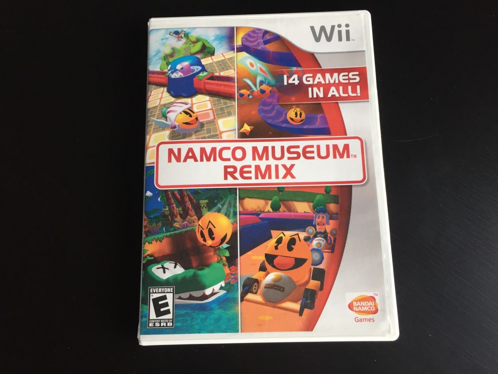 Namco Museum Remix (Nintendo Wii) COMPLETE 9 Games in All on the Disc