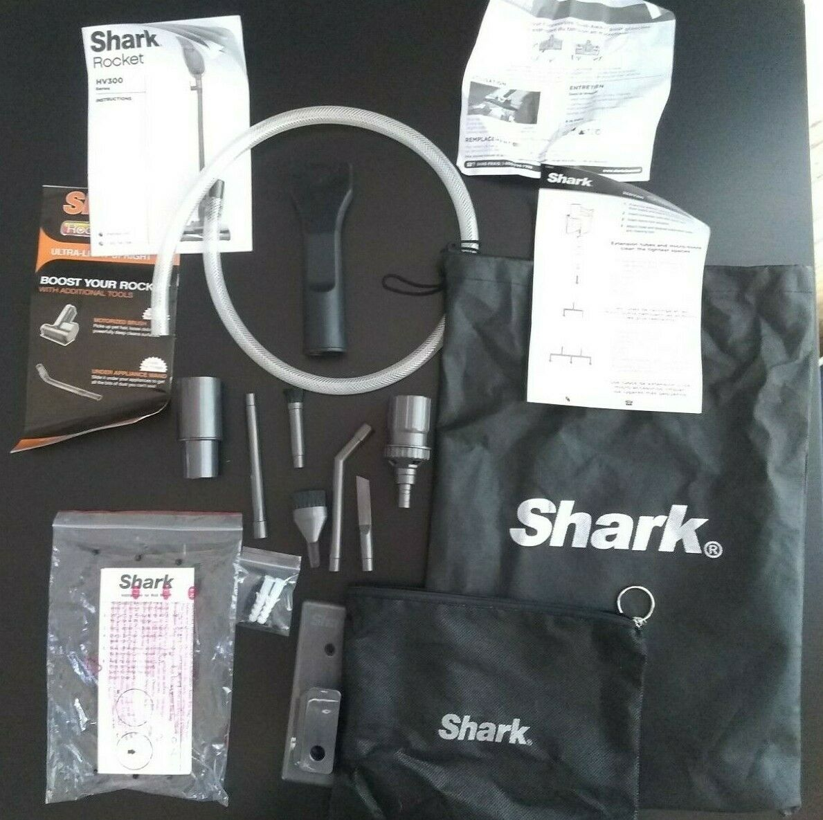 Shark Rocket HV300 Parts Accessories Car Detail Kit Wall Mount Manuals XCDV300