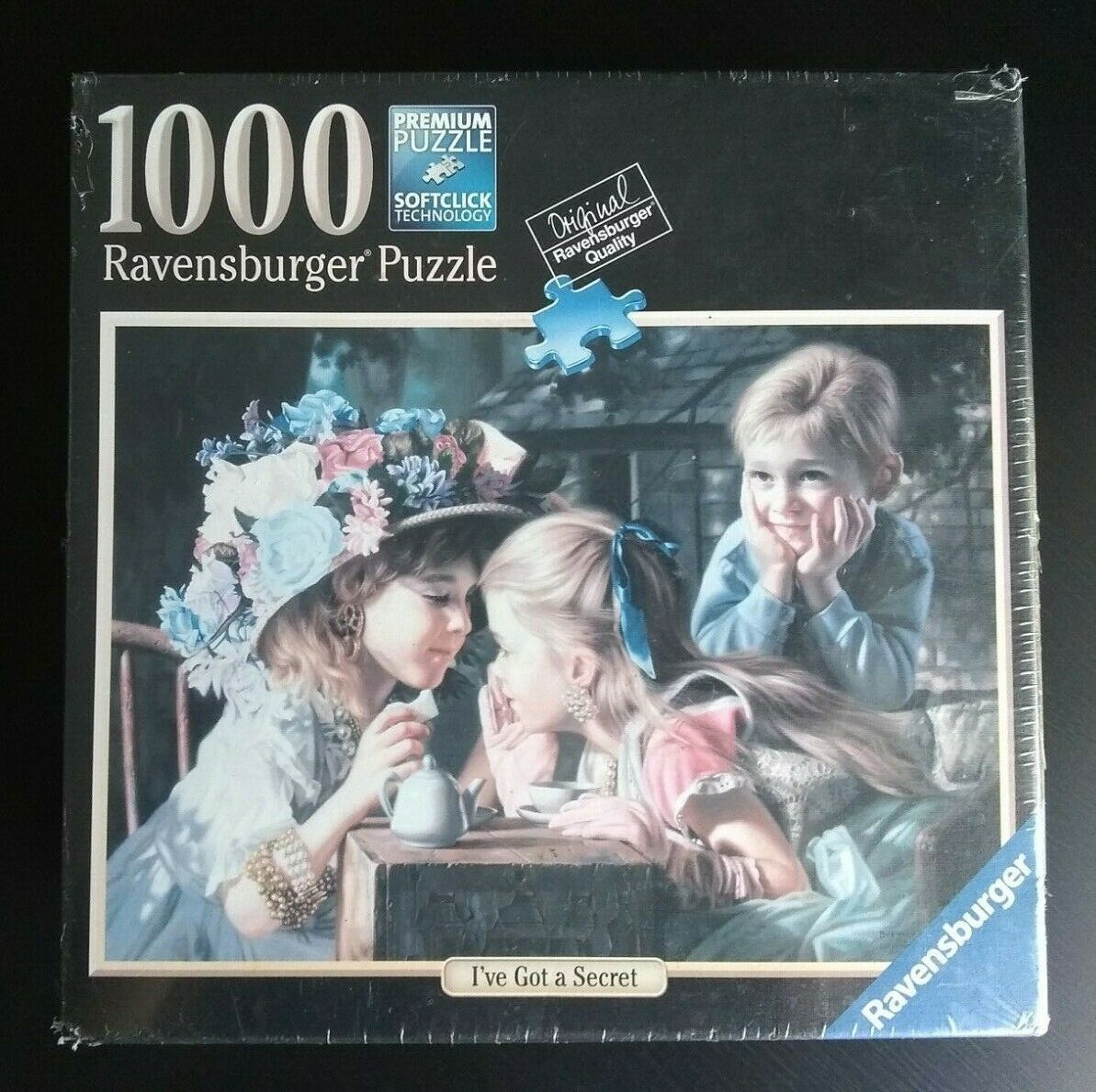NEW Sealed Ravensburger Puzzle I Have Got A Secret Jigsaw 1000 Pcs No. 81 368