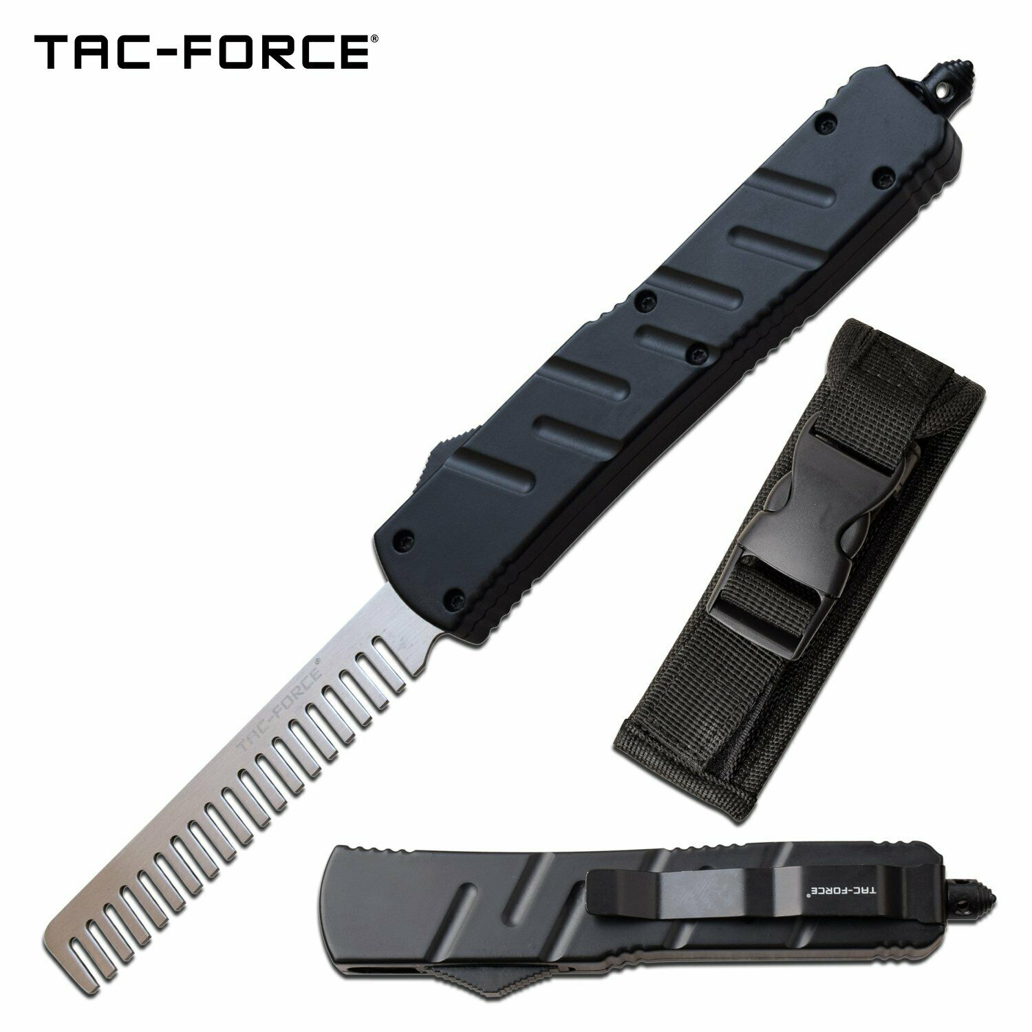 Automatic OTF Comb Hair & Beard Novelty Hairdresser Barber Tool Novelty EDC Mens Gift Out-The-Front