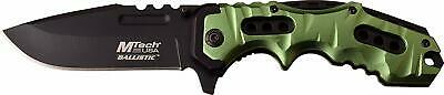 Incredible Hulk Green Tactical Blade EDC Spring Assist Great Grip Pocket Knife