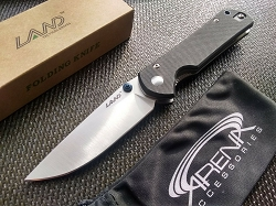 Sanrenmu LAND 910 Liner Lock Pocket Knife 12C27 Sandvik Blade Bearings G10 EDC USA Seller Stock for Fast Shipment