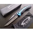 Blue Tanto Pocket Knife