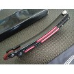 Red & Black CS:GO Practice Butterfly Balisong Trainer