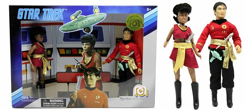 Mego Star Trek Mirror Universe Sulu & Uhura Two Pack Classic 8