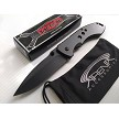 Razor Tactical Rare All Metal Black Ti Coated Spring Assisted Pocket Knife Frame Lock Flipper EDC
