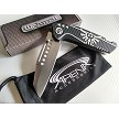 The Legend of Zelda Wharncliffe Reverse Tanto Black Spring Assisted Pocket Knife EDC Wartech