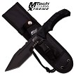 MTech USA Horizontal Concealed Carry Fixed Blade Knife G10 Handle 4mm Thick Tanto 440C Blade EDC