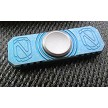 Stedemon Z01 Real Titanium Blue Fidget Hand Spinner EDC Ceramic Ball Bearing