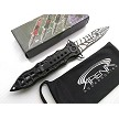 Black Spider-Man Web Spring Assisted Pocket Knife Red Widow EDC Blade Glass Breaker