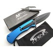 MTech Self Customizable Photo Logo Memo Pocket Knife Blue Spring Assisted EDC Promo Great Gift Idea