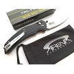 Tac-Force 7CR17 Steel Ball Bearing Pivot Axis Lock Manual Open Pocket Knife Tip Up Carry EDC