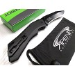 AUS-8 Steel Schrade Shiznit Magic Spring Assisted Pocket Knife Flipper w/Safety Lock EDC Harpoon Kukri Recurve Blade
