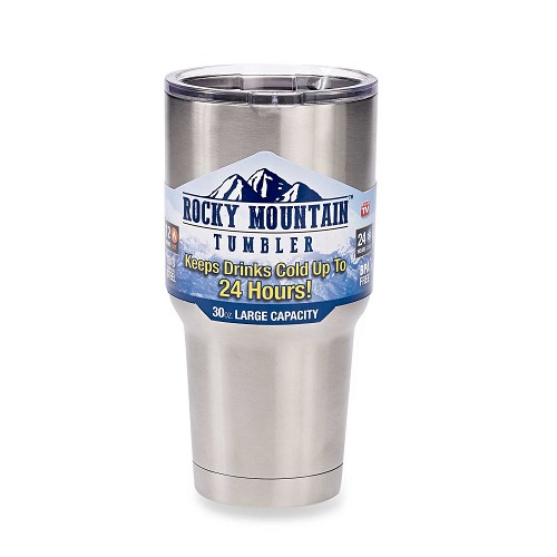Rocky Mountain Tumbler 30oz 18/8 Stainless Steel Double Wall Insulate Coffee Mug